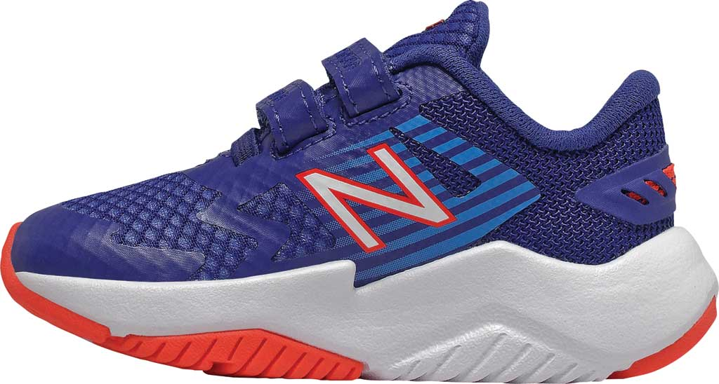 Infant Boys' New Balance Rave Run Hook and Loop Sneaker, , large, image 2