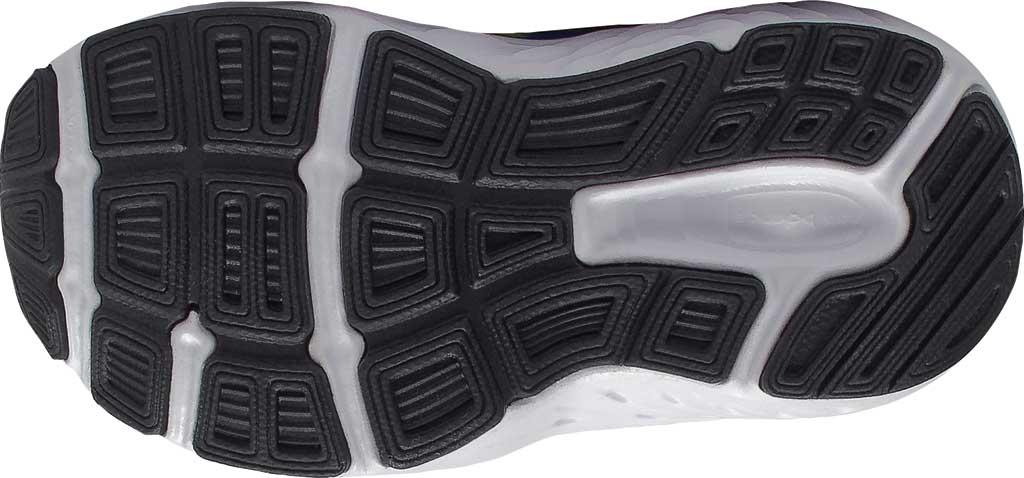 Infant New Balance 680v6 Hook and Loop Running Sneaker, Marine Blue/Lemon Slush/Black, large, image 4