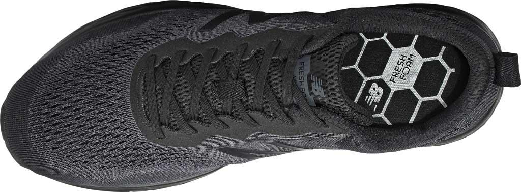 Men's New Balance Fresh Foam Arishi v3 Running Sneaker, Black/Lead/Dark Silver Metallic, large, image 3