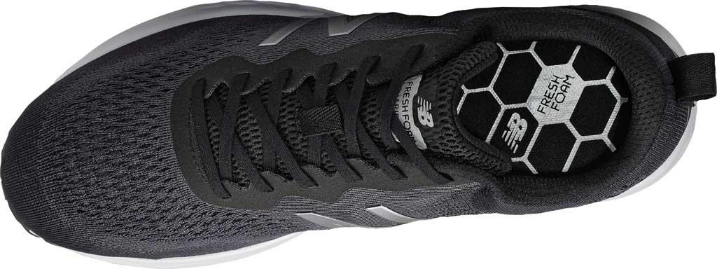 Men's New Balance Fresh Foam Arishi v3 Running Sneaker, Black/Orca/Silver Metallic/White, large, image 3