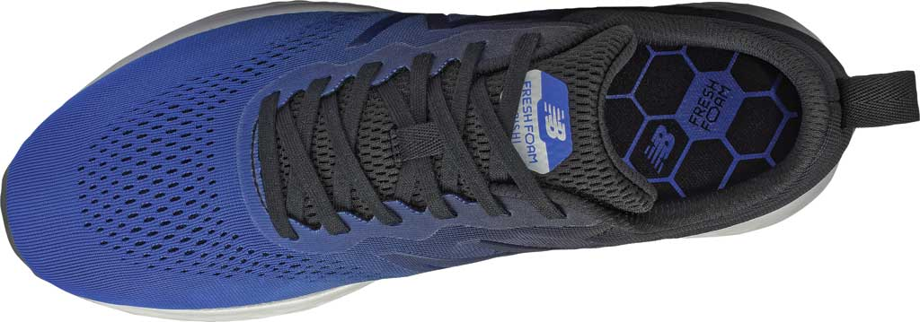 Men's New Balance Fresh Foam Arishi v3 Running Sneaker, Blue/Black, large, image 3