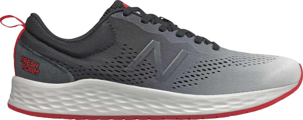 Men's New Balance Fresh Foam Arishi v3 Running Sneaker, White/Black, large, image 1