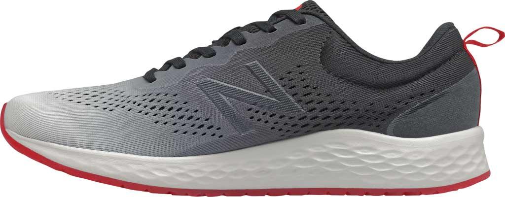 Men's New Balance Fresh Foam Arishi v3 Running Sneaker, White/Black, large, image 2