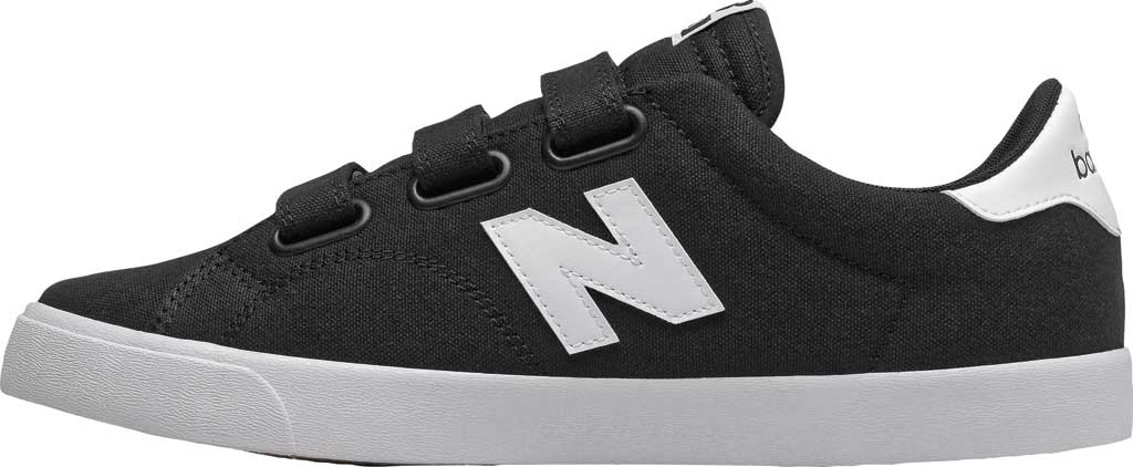 Men's New Balance 210v1 Sneaker, Black/White, large, image 2