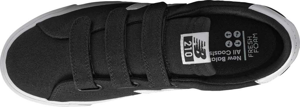 Men's New Balance 210v1 Sneaker, Black/White, large, image 3