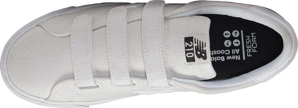 Men's New Balance 210v1 Sneaker, White/White, large, image 3