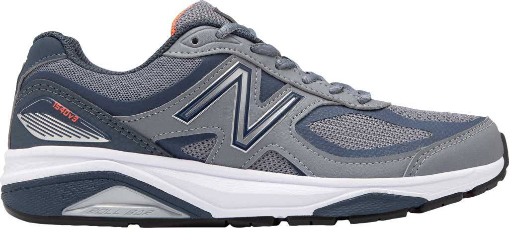 Women's New Balance 1540v3 Running Sneaker, Gunmetal/Dragonfly, large, image 1