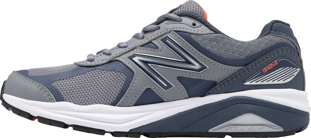 Women's New Balance 1540v3 Running Sneaker, Gunmetal/Dragonfly, large, image 2