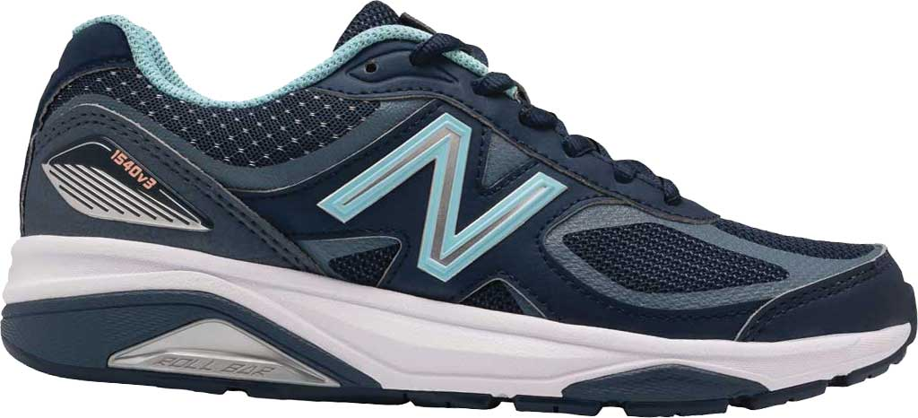 Women's New Balance 1540v3 Running Sneaker, Natural Indigo/Natural Indigo, large, image 1