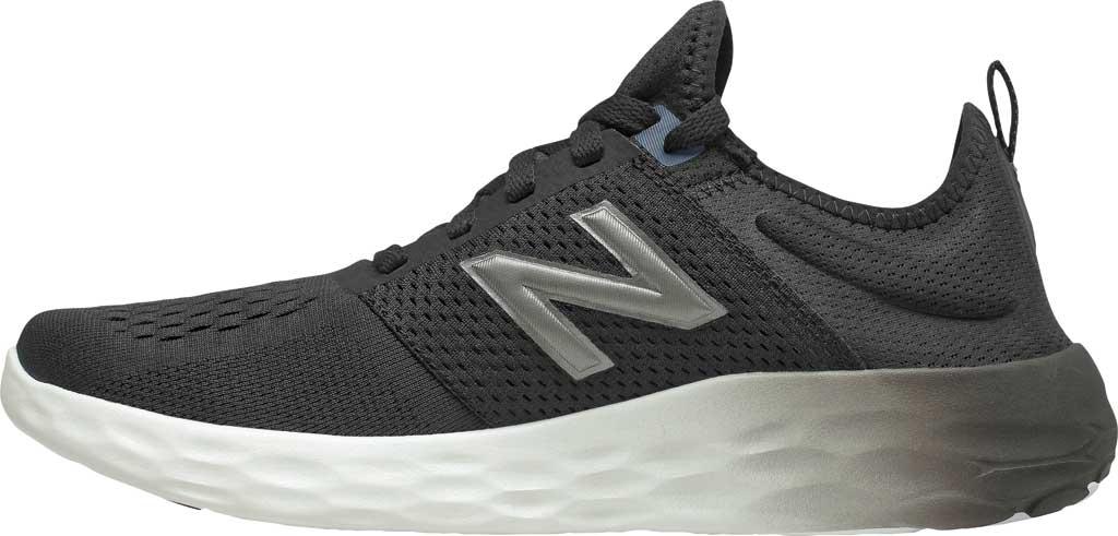 Men's New Balance Fresh Foam Sport v2 Slip-On Running Shoe, Black/Thunder, large, image 3