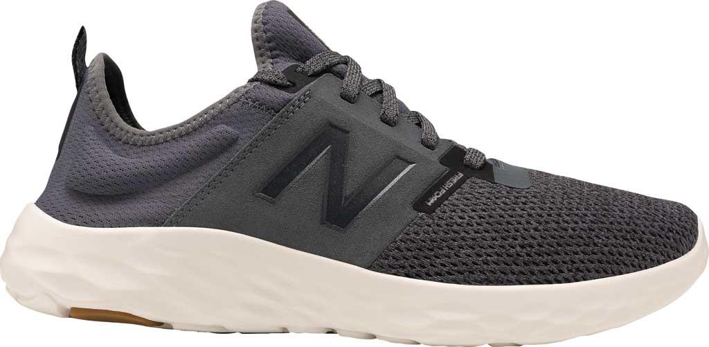Men's New Balance Fresh Foam Sport v2 Slip-On Running Shoe, Lead/Magnet, large, image 1
