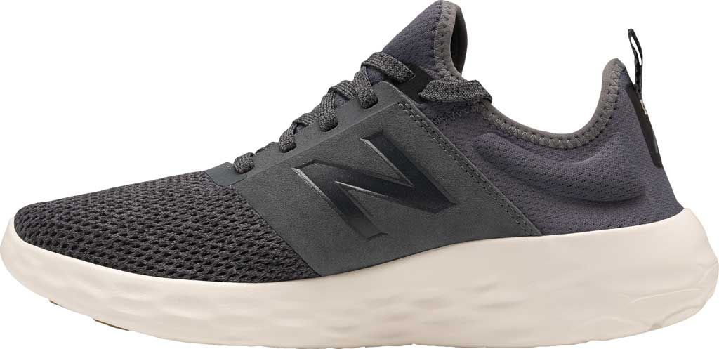 Men's New Balance Fresh Foam Sport v2 Slip-On Running Shoe, Lead/Magnet, large, image 3