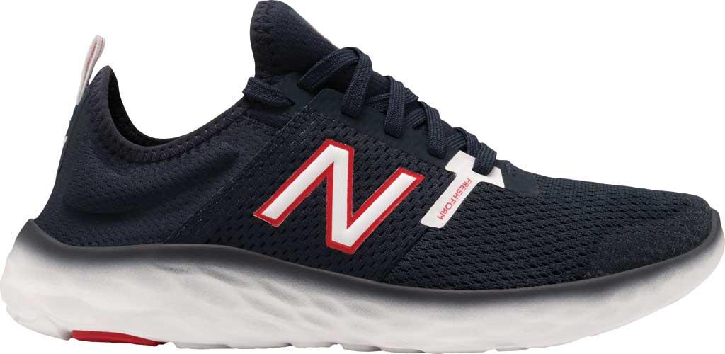 Men's New Balance Fresh Foam Sport v2 Slip-On Running Shoe, Natural Indigo/Eclipse, large, image 2
