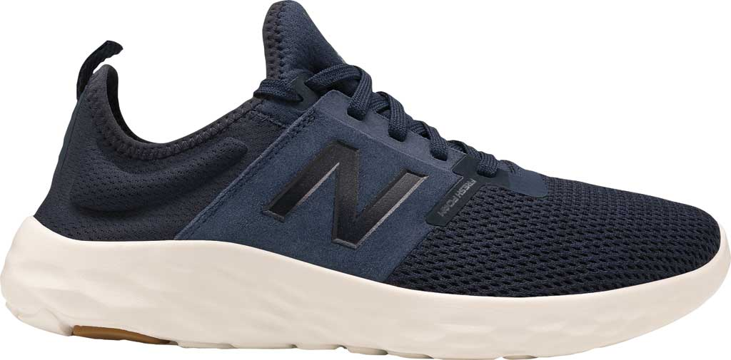 Men's New Balance Fresh Foam Sport v2 Slip-On Running Shoe, Natural Indigo/Natural Indigo, large, image 2