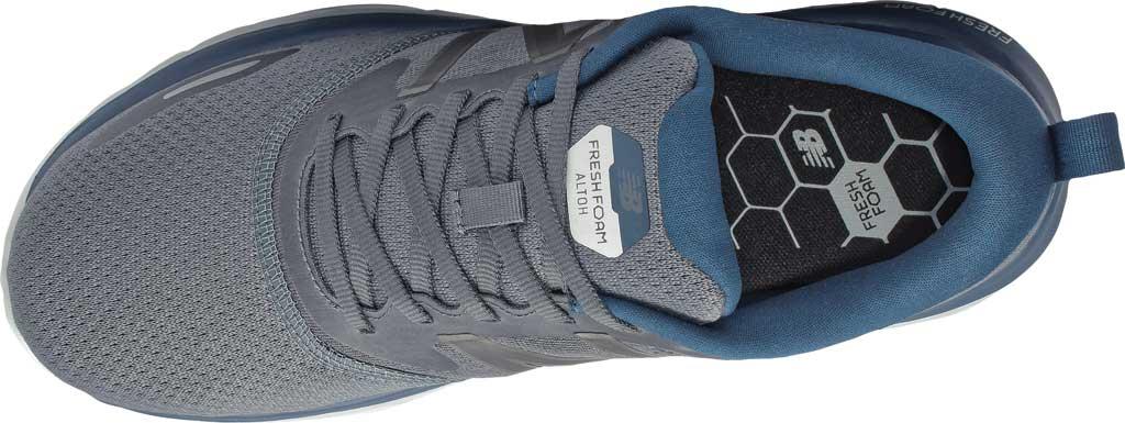 Men's New Balance Fresh Foam Altoh Road Running Shoe, Gray/Rogue Wave, large, image 4