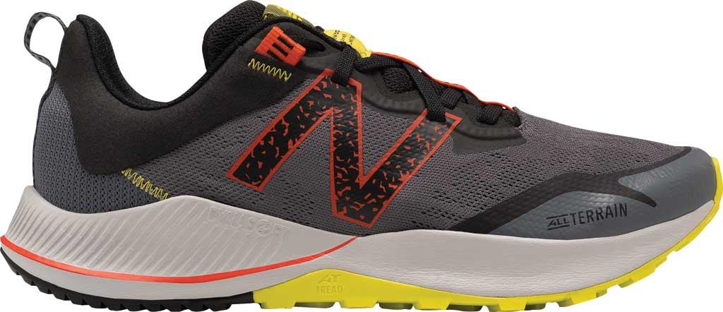 Men's New Balance DynaSoft Nitrel v4 Trail Running Shoe, Grey/Yellow, large, image 1