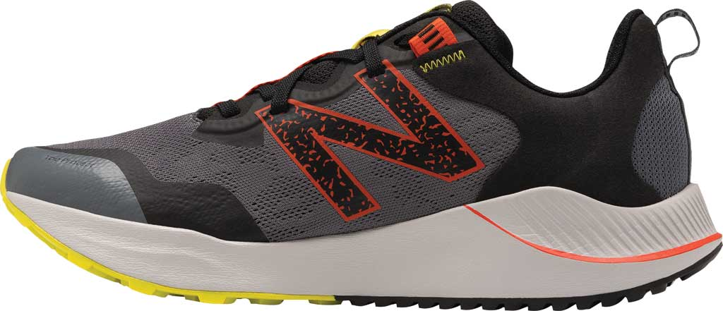 Men's New Balance DynaSoft Nitrel v4 Trail Running Shoe, Grey/Yellow, large, image 3