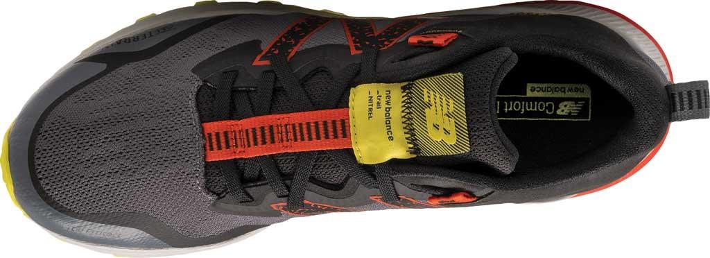 Men's New Balance DynaSoft Nitrel v4 Trail Running Shoe, Grey/Yellow, large, image 4