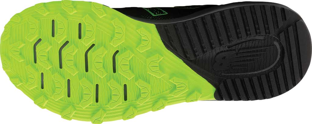 Men's New Balance DynaSoft Nitrel v4 Trail Running Shoe, Black/Lime, large, image 5