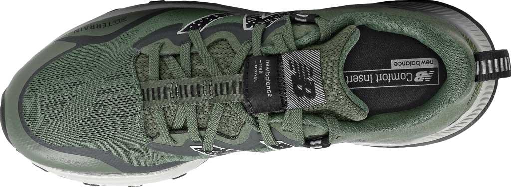 Men's New Balance DynaSoft Nitrel v4 Trail Running Shoe, Celadon/Black Spruce/Black/Virtual Sky, large, image 4