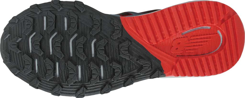 Men's New Balance DynaSoft Nitrel v4 Trail Running Shoe, Cyclone/Light Cyclone/Black/Velocity Red, large, image 5