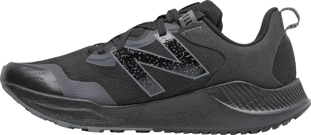 Men's New Balance DynaSoft Nitrel v4 Trail Running Shoe, Black/Black, large, image 3