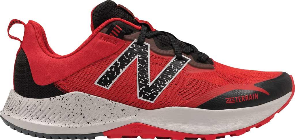 Men's New Balance DynaSoft Nitrel v4 Trail Running Shoe, Red/Black, large, image 1