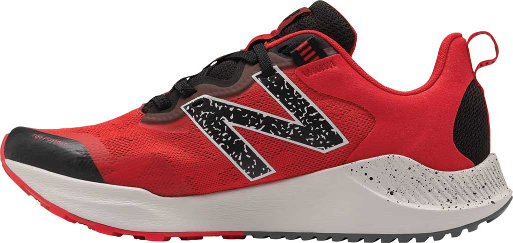 Men's New Balance DynaSoft Nitrel v4 Trail Running Shoe, Red/Black, large, image 2