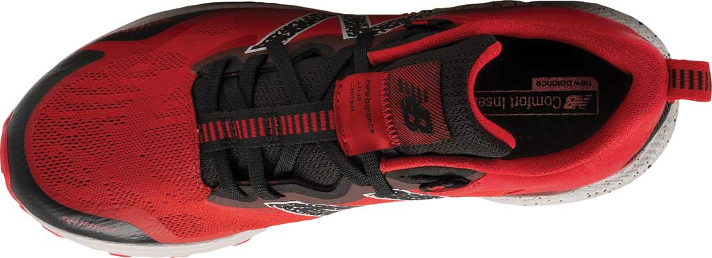Men's New Balance DynaSoft Nitrel v4 Trail Running Shoe, Red/Black, large, image 3