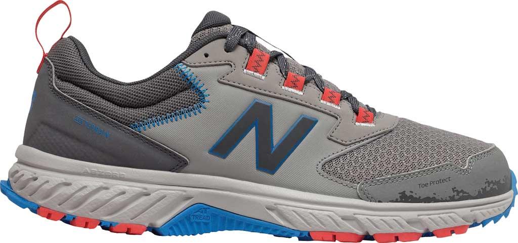 Men's New Balance 510v5 Trail Running Shoe, Marblehead/Magnet/Rain Cloud/Neo Classic Blue, large, image 1