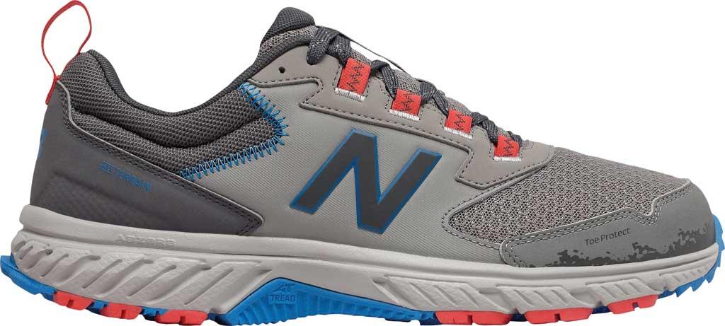 Men's New Balance 510v5 Trail Running Shoe, Marblehead/Magnet/Rain Cloud/Neo Classic Blue, large, image 2