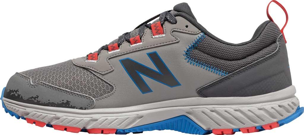 Men's New Balance 510v5 Trail Running Shoe, Marblehead/Magnet/Rain Cloud/Neo Classic Blue, large, image 3
