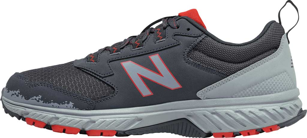Men's New Balance 510v5 Trail Running Shoe, Outer Space/Cyclone/Velocity Red, large, image 3