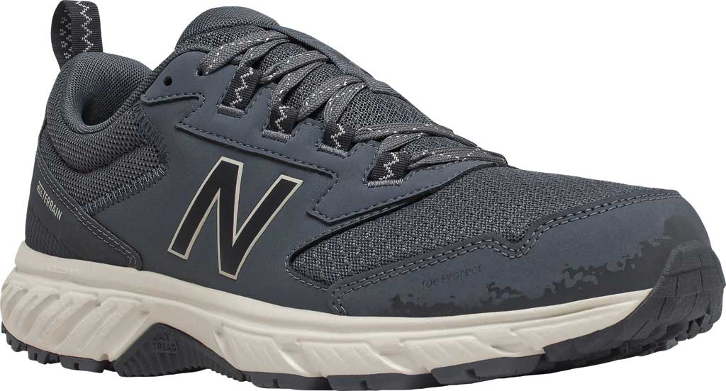 Men's New Balance 510v5 Trail Running Shoe, Thunder/Outer Space/Timberwolf, large, image 1