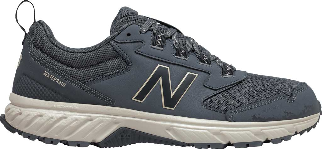 Men's New Balance 510v5 Trail Running Shoe, Thunder/Outer Space/Timberwolf, large, image 2