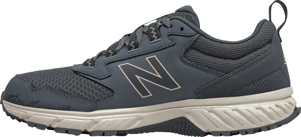 Men's New Balance 510v5 Trail Running Shoe, Thunder/Outer Space/Timberwolf, large, image 3