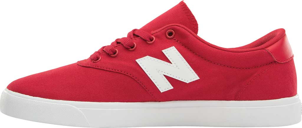 Men's New Balance All Coasts AM55v1 Sneaker, Team Red/White, large, image 2