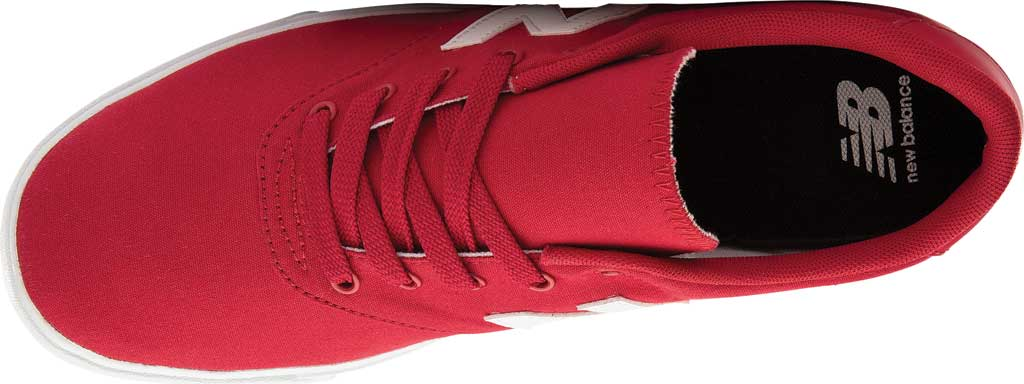 Men's New Balance All Coasts AM55v1 Sneaker, Team Red/White, large, image 3