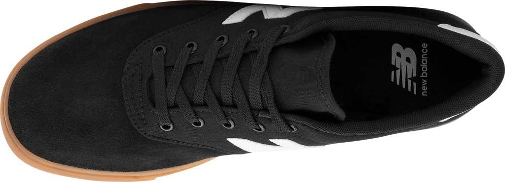 Men's New Balance All Coasts AM55v1 Sneaker, Black/White/Gum, large, image 4