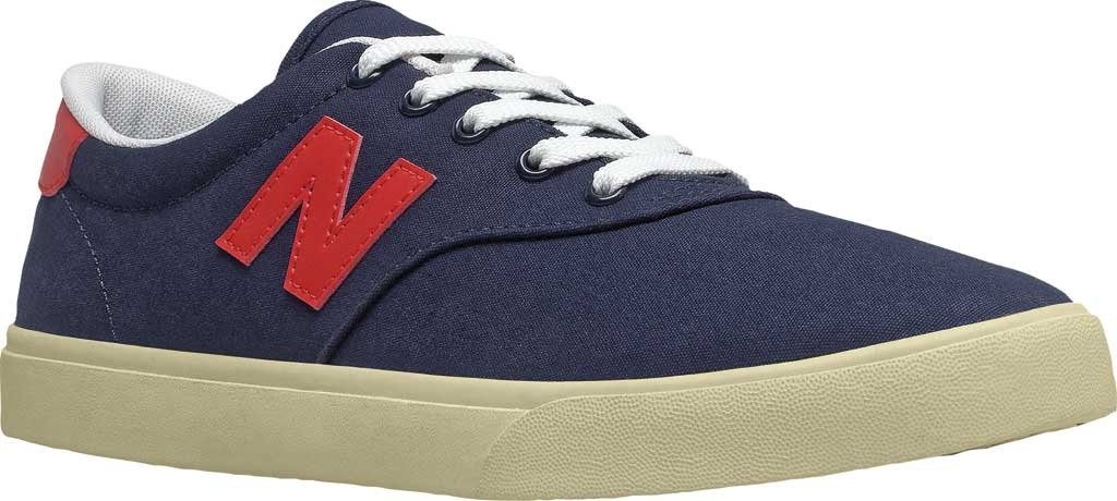Men's New Balance All Coasts AM55v1 Sneaker, Navy/Red, large, image 1