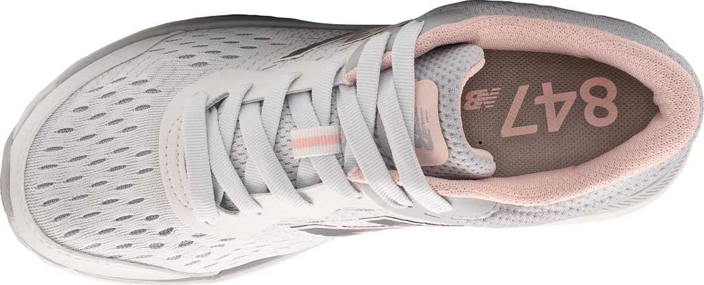 Women's New Balance 847v4 Walking Sneaker, Arctic Fox/Silver Mink/Peach Soda, large, image 3