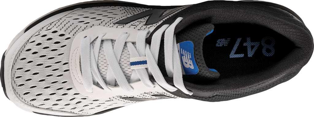 Men's New Balance 847v4 Walking Sneaker, Arctic Fox/Black/Team Royal, large, image 3
