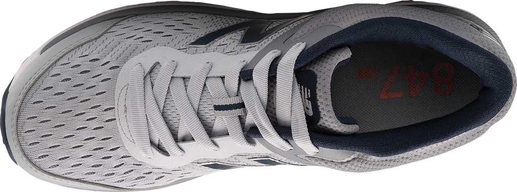 Men's New Balance 847v4 Walking Sneaker, Silver Mink/Gunmetal/Natural Indigo, large, image 3