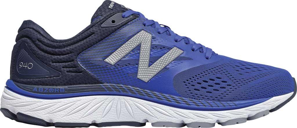 Men's New Balance 940v4 Running Sneaker, Team Royal/Eclipse/White, large, image 1