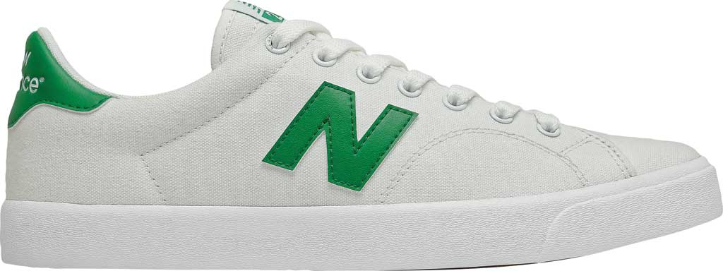 Men's New Balance All Coasts AM210 Mid Sneaker, White/Green, large, image 2