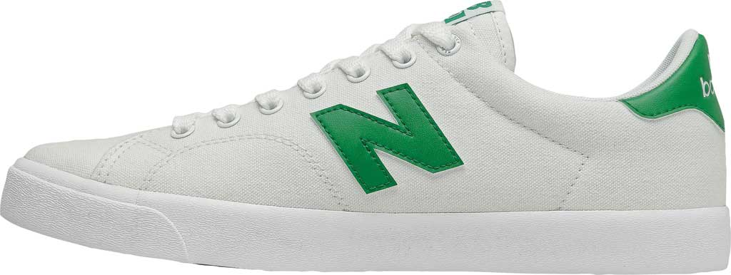 Men's New Balance All Coasts AM210 Mid Sneaker, White/Green, large, image 3