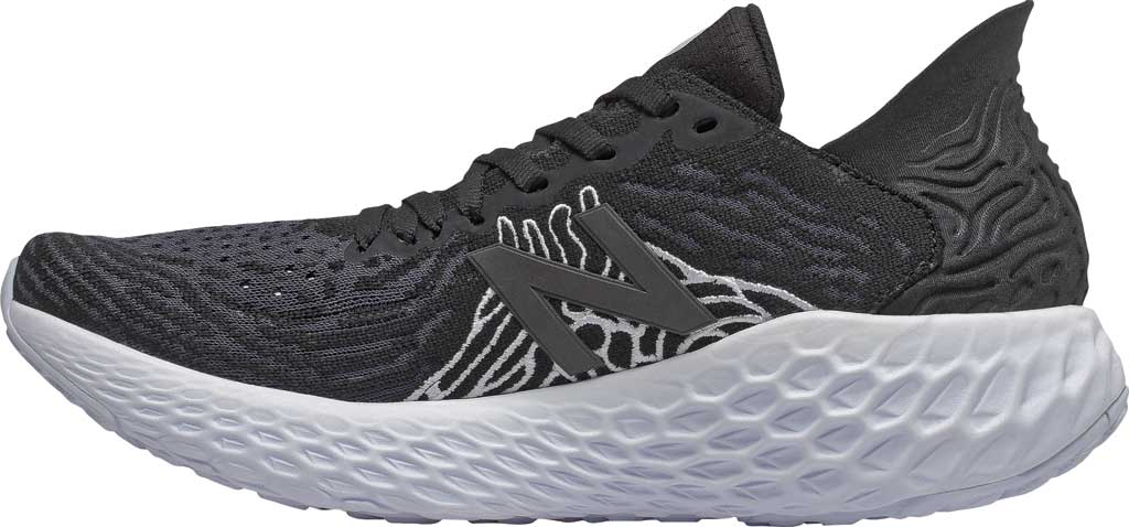 Women's New Balance Fresh Foam 1080v10 Running Shoe, Black/Outerspace, large, image 2