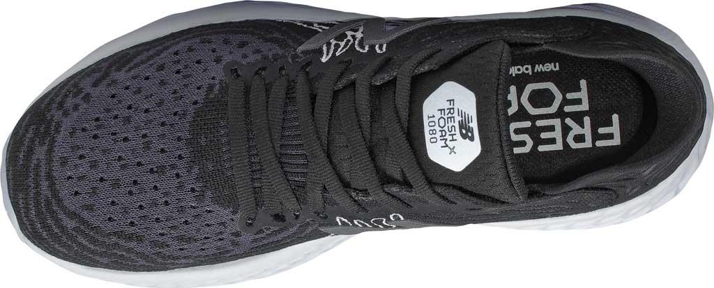 Women's New Balance Fresh Foam 1080v10 Running Shoe, Black/Outerspace, large, image 3