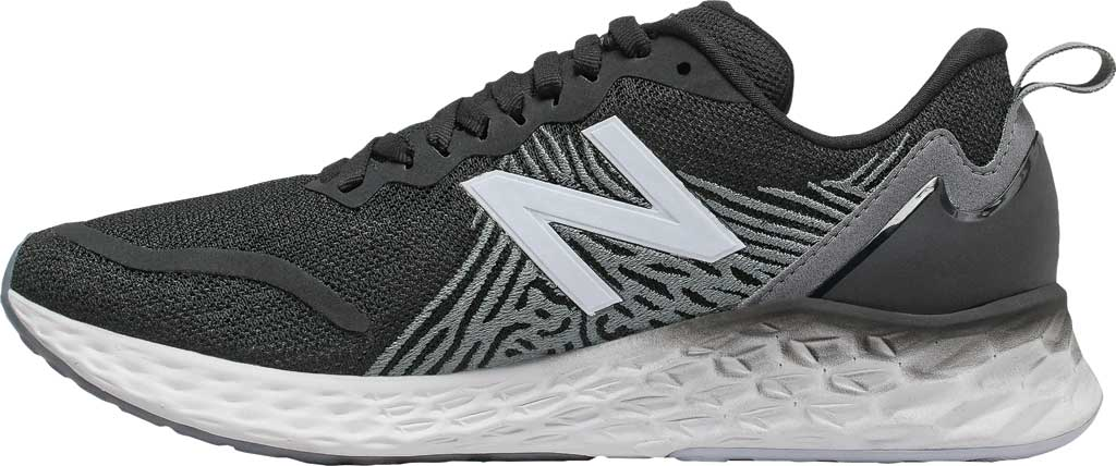 Women's New Balance Fresh Foam Tempo v1 Running Shoe, Black/Lead/Moondust, large, image 2