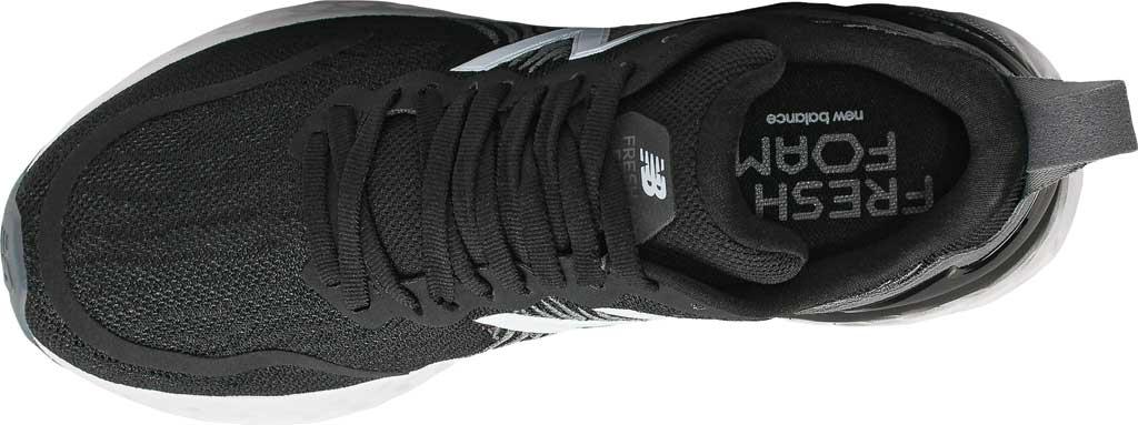 Women's New Balance Fresh Foam Tempo v1 Running Shoe, Black/Lead/Moondust, large, image 3
